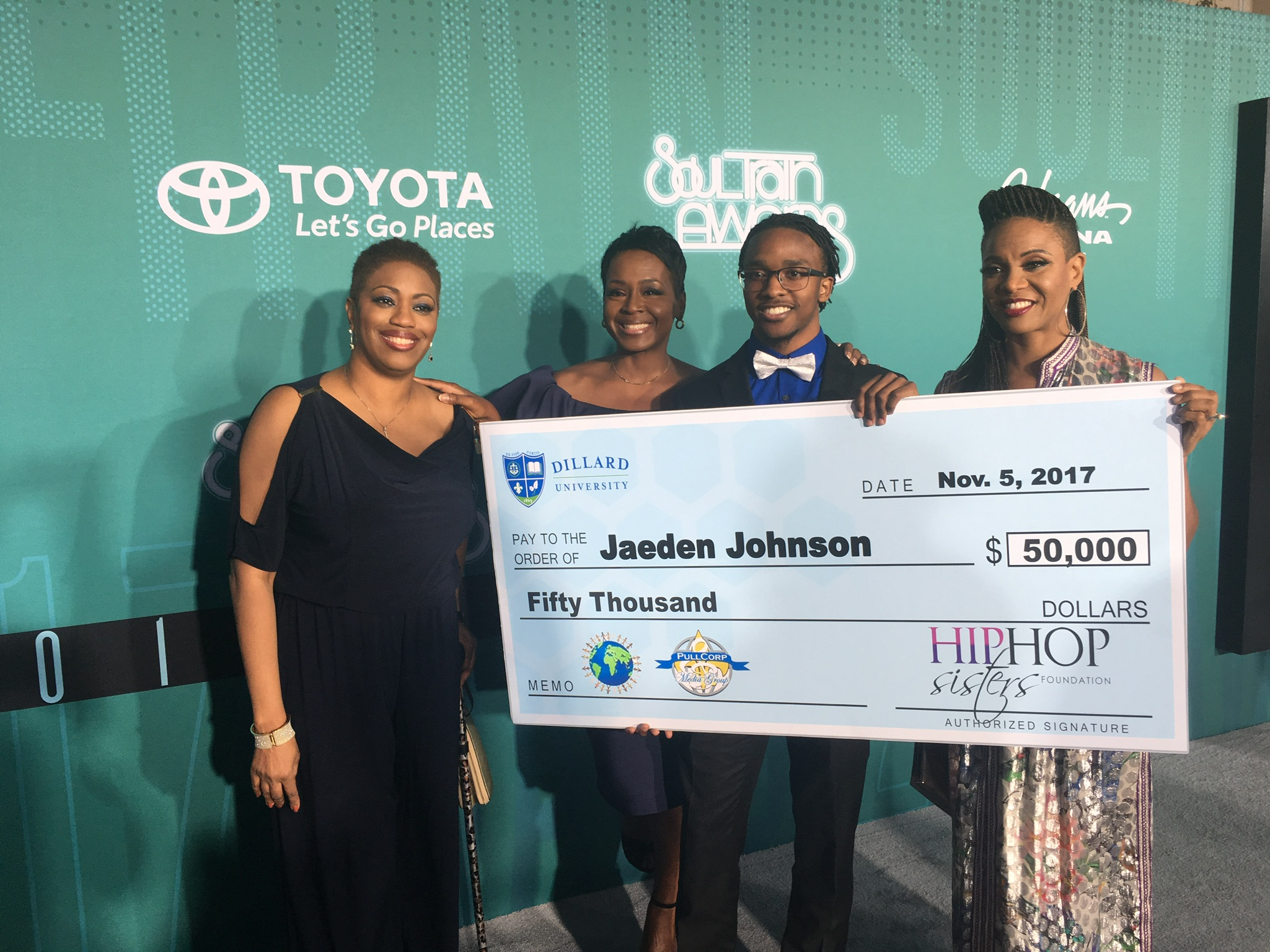 Congrats to Jaeden Johnson 2017 #EducateOurMen Scholarship Winner!