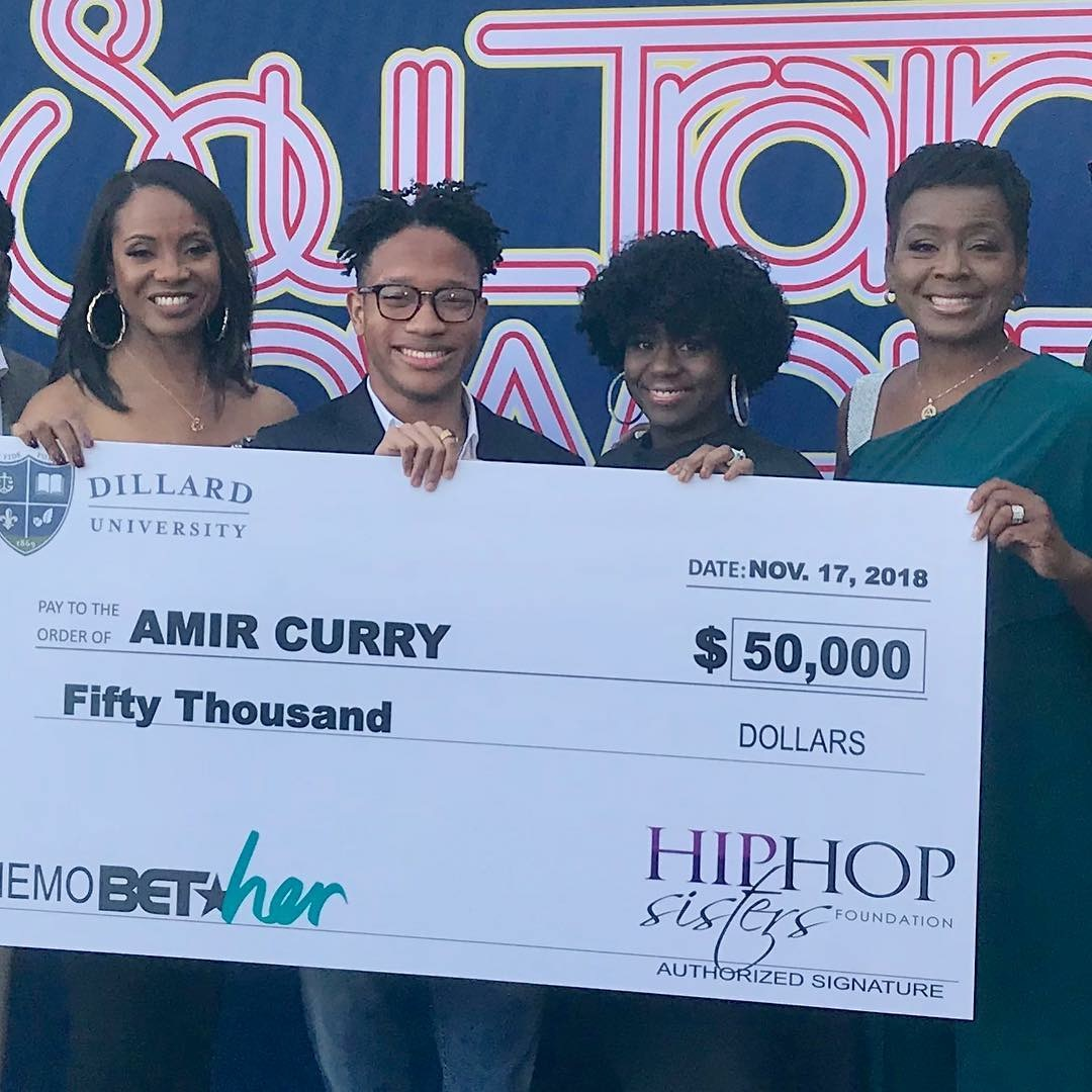 Congrats to Amir Curry, 2018 #EducateOurMen Scholarship Winner!